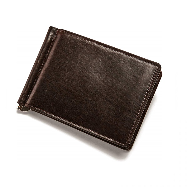leather money clip wallet manufacturers in marseille